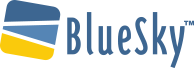 Bluesky logo mobile